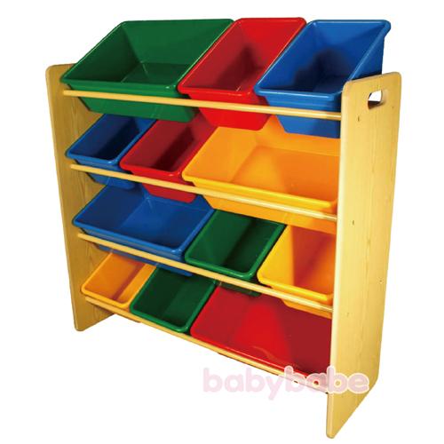 5608-木紋玩具架