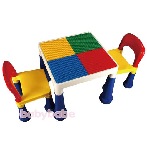 8601N-B大象腳積木桌椅組