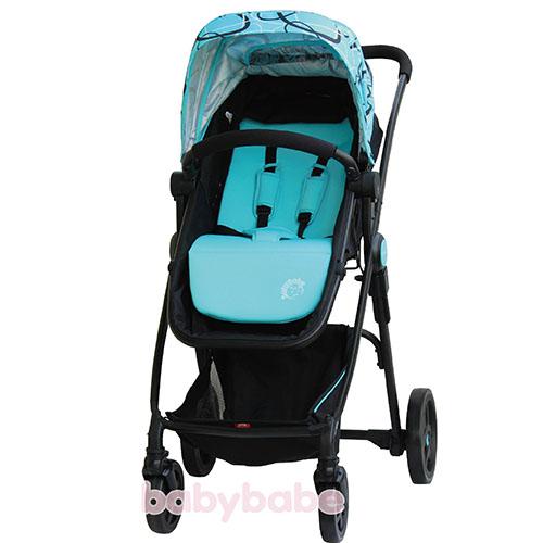 888輕量歐式高景觀嬰幼兒手推車-藍