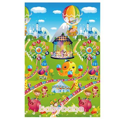 93916環保EPE安全爬行墊-雙面組合C兒童樂園-大富翁