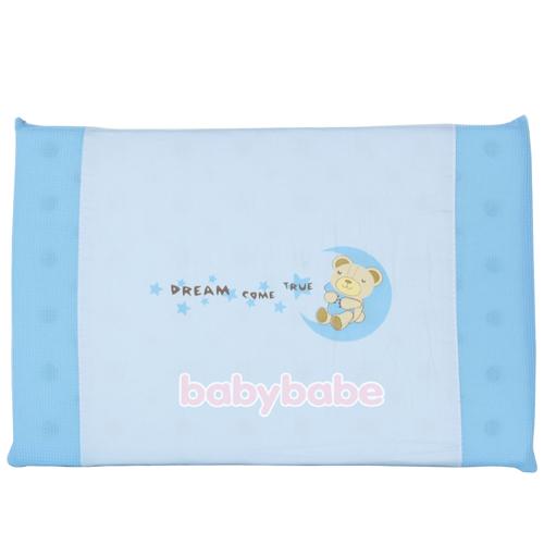 B9891217美夢成真高透氣純棉趴枕-天空藍