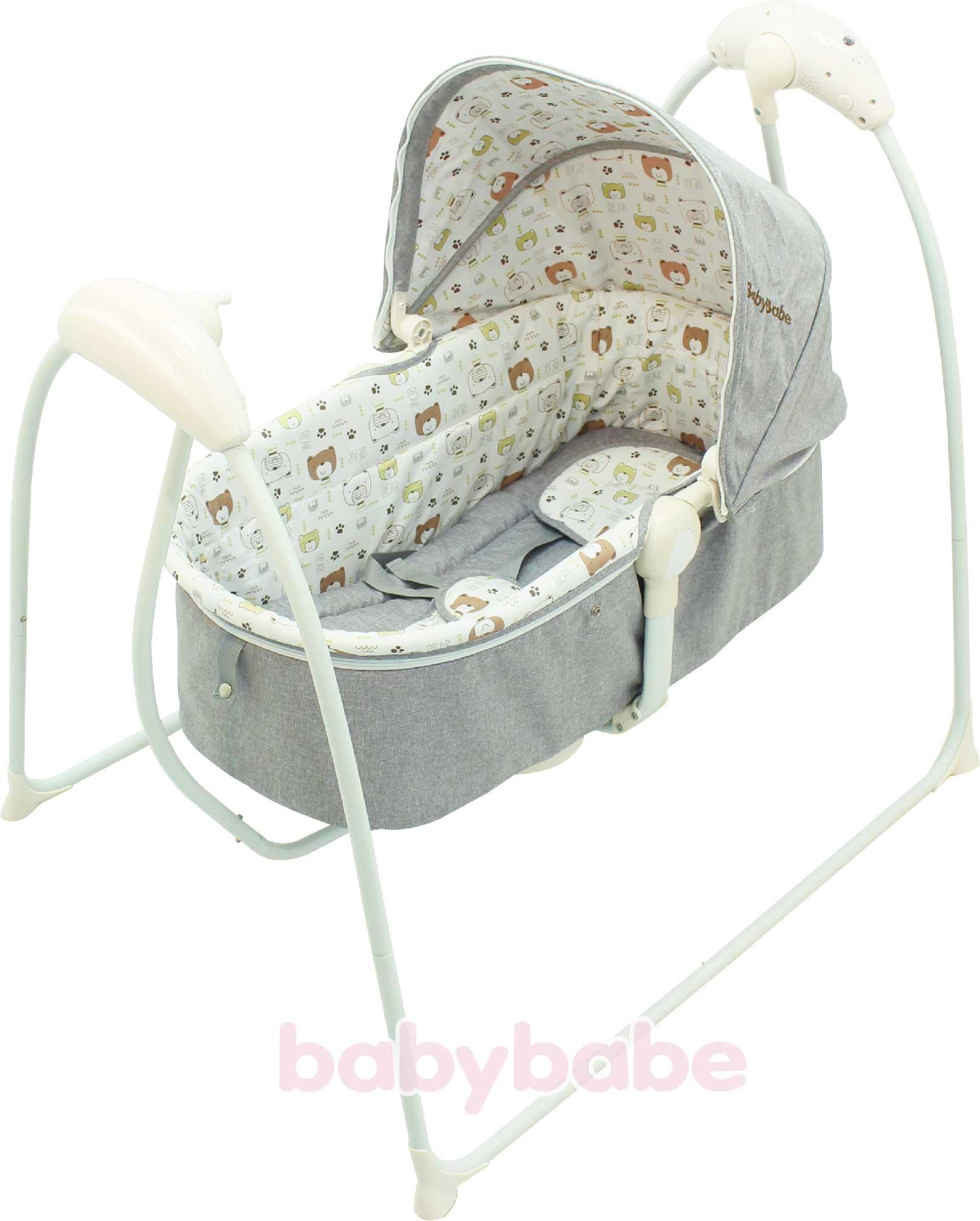 B018嬰幼兒MP3音樂電動搖床-01