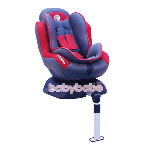 DS-610S-B兒童汽車安全座椅-鐵灰紅
