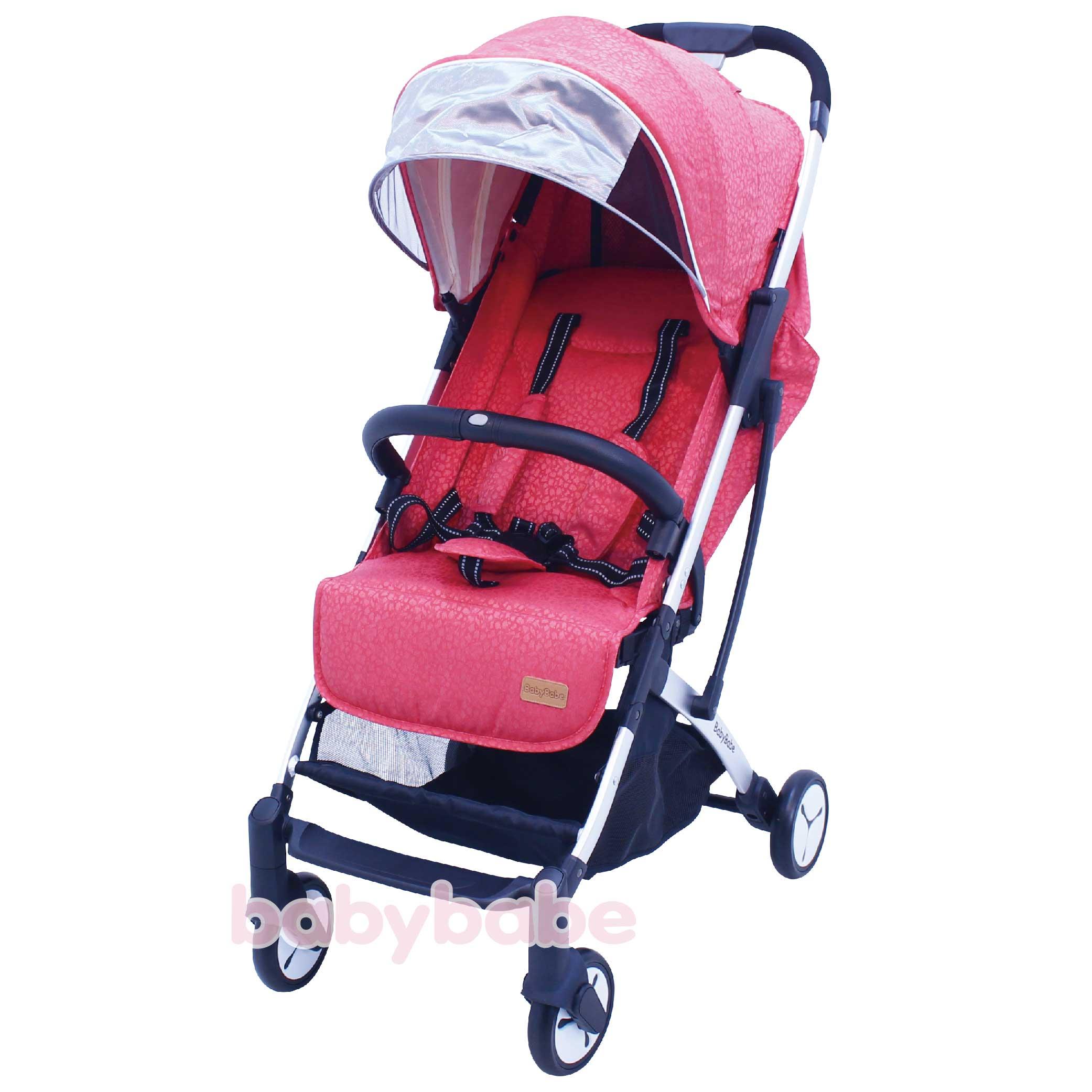 S116嬰幼兒登機推車-寶石紅-01